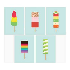 Ice-cream assortment